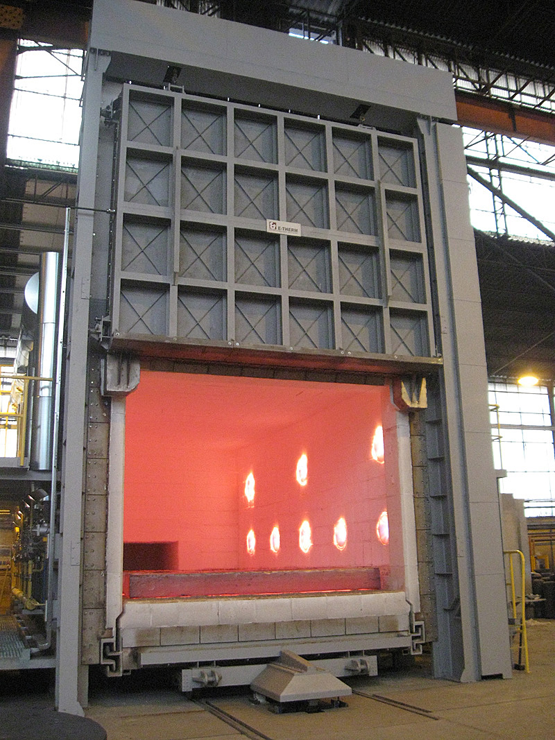Highly Efficient Heating Systems   Etherm TZ sro  industrial furnaces